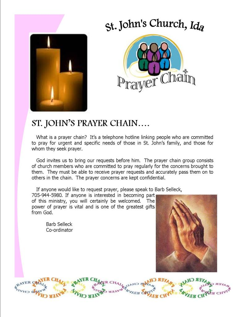 St. John's Prayer Chain