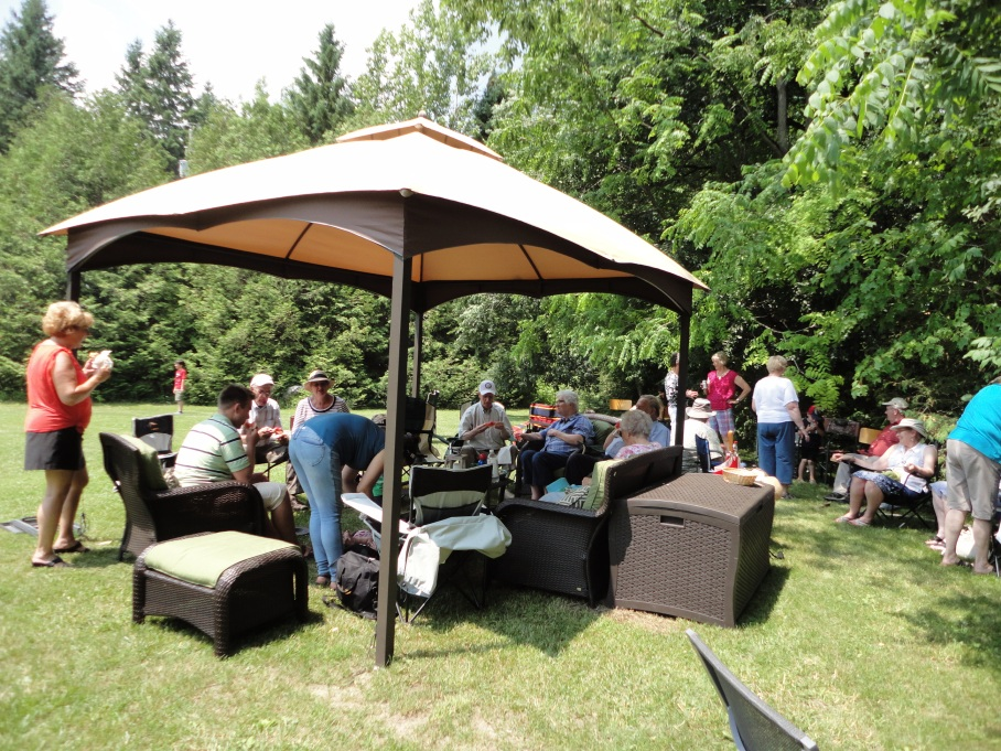 June 29th, 2014-A beautiful day for a Parish Picnic.