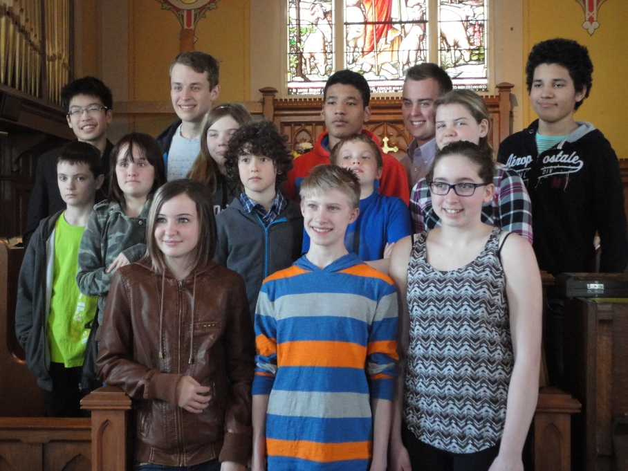 Our Youth Group April 2015